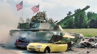 Main Battle Tanks vs Cars thumbnail