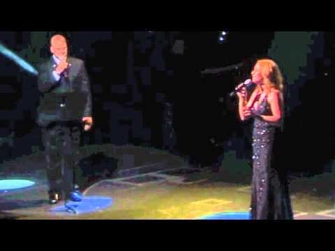 "Paul Baya and Lindsay Hamilton sing ""The Prayer"""