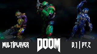 DOOM - Multiplayer (Дубль 1) pt2 - Жатва душ(Мультиплеерные забеги в полной версии нового