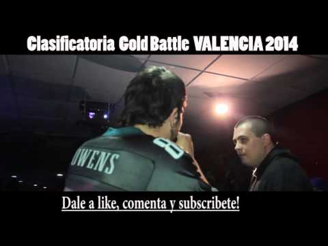 Coletiyas VS Jasis 16avos GOLD BATTLE VALENCIA