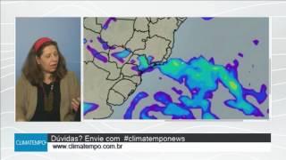 Muita chuva em SP, PR e MS no início de junho