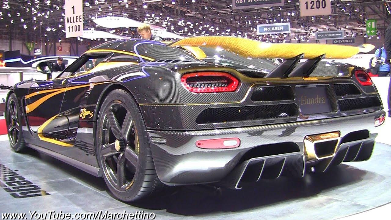 Koenigsegg One 1 >> Carbon/24k Gold Koenigsegg Agera S Hundra - YouTube