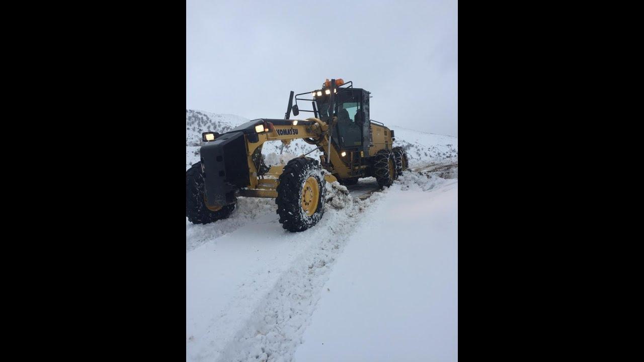 Adıyaman'da 43 köy yolu ulaşıma kapandı