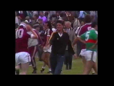 Gay McManus Galway Goal V Mayo 1989 Connaught SFC