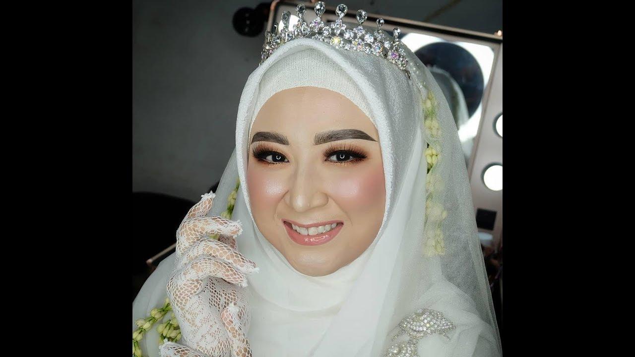 Makeup Pengantin Hijab Syar I Lusicastello Youtube