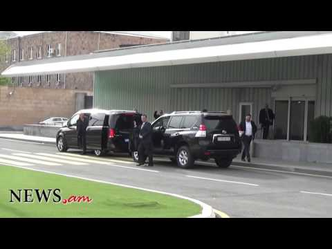 George Clooney leaves Armenia