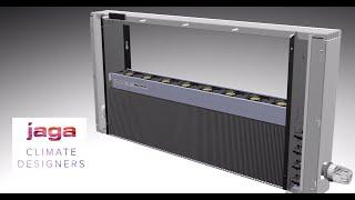 Un radiador que trabaja con aerotermia: Strada Hybrid de JAGA