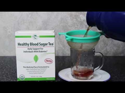 Healthy Blood Sugar Tea™ - Brewing Instructions