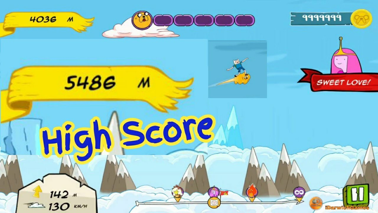 Adventure Time Crazy Flight tipps über mod apk