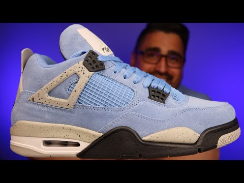 UNBOXING and FIRST IMPRESSIONS: Air Jordan 4 University Blue Replica | UNC | Legit Checking Guide
