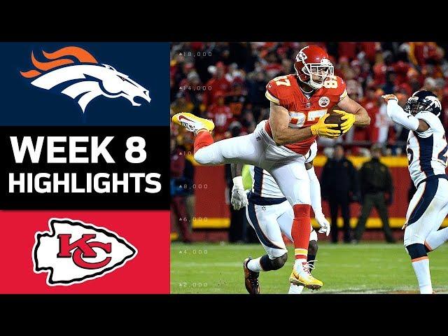Broncos vs. Chiefs | NFL Week 8 Game Highlights
