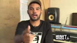 Afrikaans rapper Chase Lutron kicks a freestyle on Heavy Words TV