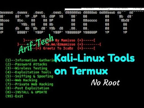 Fsociety-Kali-Linux Tools on termux [noroot] Android - Most Popular