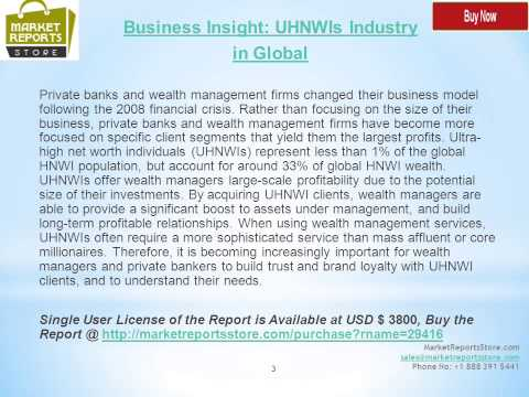 Global UHNWIs wealth Business Strategy
