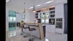 Dry kitchen and wet kitchen design