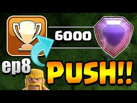 4400 TODAY?!  TH11 Trophy Push to Top 200 ep7 LIVE STREAM | Clash of Clans