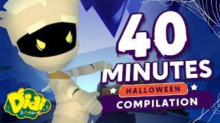 Halloween Nursery Rhymes - Sleepy Mummy Compilation   Didi & Friends