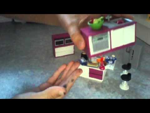 Pr sentation cuisine playmobil youtube for Cuisine playmobil