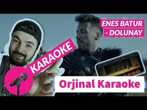 Dolunay Enes Batur Karaoke Youtube