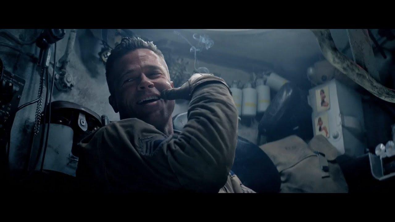 Обзор фильма Ярость - как Брэд Питт в World of Tanks играл ... брэд пит фильм танк