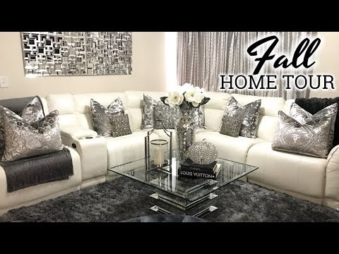 Glam Fall Home Tour 2017 | Living Room Tour & Dining Room Decor