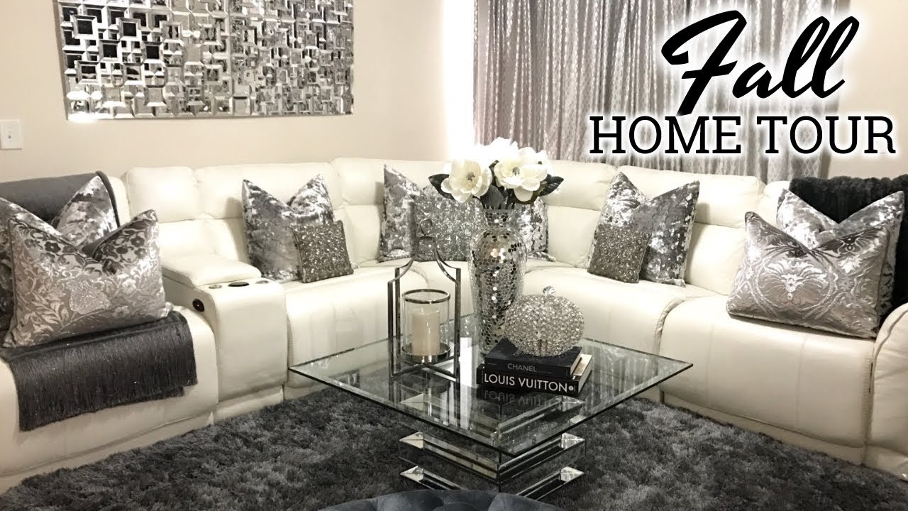Glam Fall Home Tour 2017 Living Room Tour Dining Room