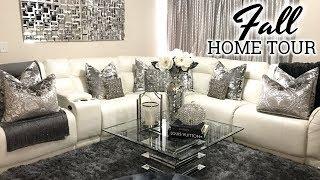 Glam Fall Home Tour 2017   Living Room Tour & Dining Room Decor
