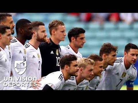 La nueva generación de Alemania se complicó ante Australia pero ganó en su debut en Confederaciones