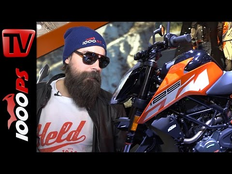 KTM 125 Duke 2017 | K.OTs Motorrad Neuheiten