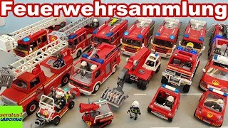 Playmobil Feuerwehr Fahrzeuge riesige Sammlung seratus1 unboxing