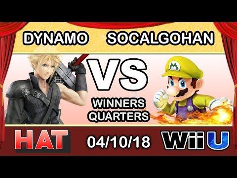 HAT 17 - Dynamo (Cloud) Vs. NXT | SocalGohan (Mario) Winners Quarters - Smash 4