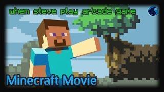 Minecraft: Steve lạc vào thế giới game điện tử