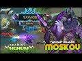 1 Savage 2 Maniac  10k   Match Moskov is Real                 Top Global Moskov   MLBB