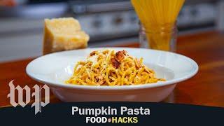 Pumpkin Pasta Sauce | Mary Beth Albright's Food Hacks
