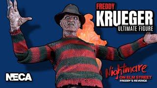 NECA A Nightmare On Elm Street Part 2 Freddy's Revenge Ultimate Freddy Krueger | Video Review HORROR