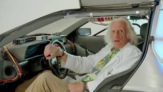 10/21/15! The Future is NOW! Doc Brown has a special message just f...