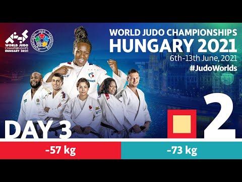 Day 3 - Tatami 2: World Judo Championships Hungary 2021