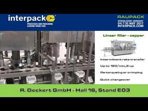 Raupack Pharma Packaging Machines @ Interpack 2017