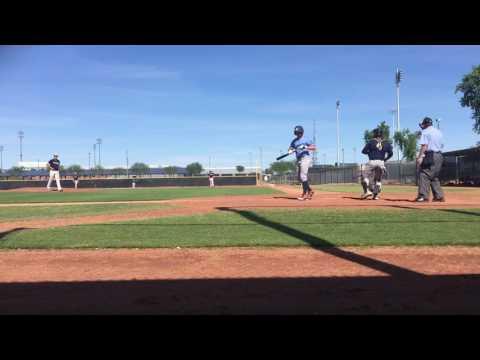DANTE SCHMID- 2016 AZ CLASSIC Peoria- Mariners3 w/ Baseball Factory (Navy)
