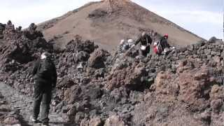 Trip to the top of Mount Teide