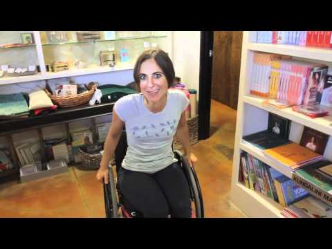 NextStep's Wheelchair for a Day-Rory Freedman
