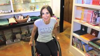 Repeat youtube video NextStep's Wheelchair for a Day-Rory Freedman