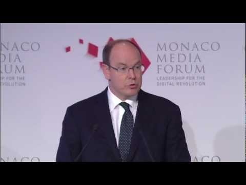 Monaco Media Forum 2012: Opening Address by HSH Prince Albert II of Monaco