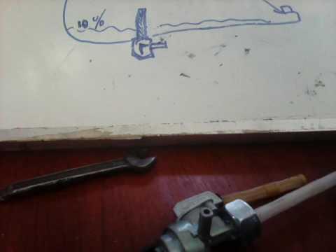 Como funciona un grifo de combustible de moto y su mantenimiento youtube - Como funciona grifo termostatico ...