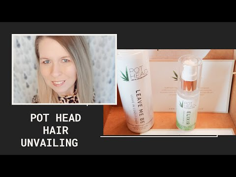 Pothead Hair Products Unboxing Youtube