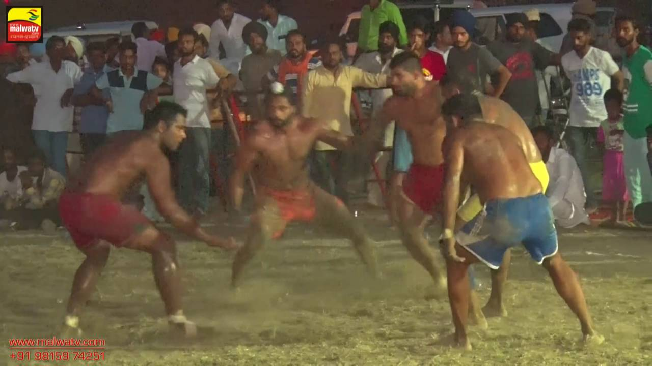 NANGLI (Amritsar) | KABADDI  - 2016 | RAMDAS vs BOPARAWAN | FINAL  | Full HD | Part LAST