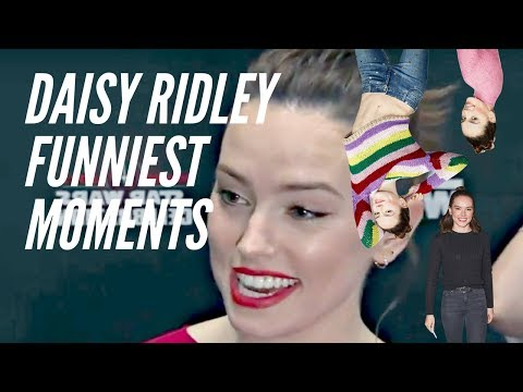 Daisy Ridley FUNNIEST MOMENTS