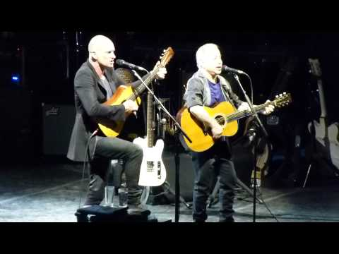 Paul Simon & Sting - When Will I Be Loved (Everly Brothers cover)