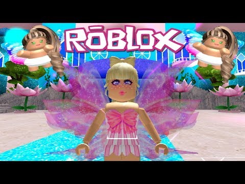 Twin Fairy Babies! Roblox: GIANT UPDATE ~ Fairies & Mermaids Winx High School ~ Love Fairy