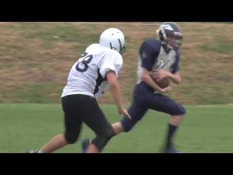 2013 Newtown Middle School Football Highlights